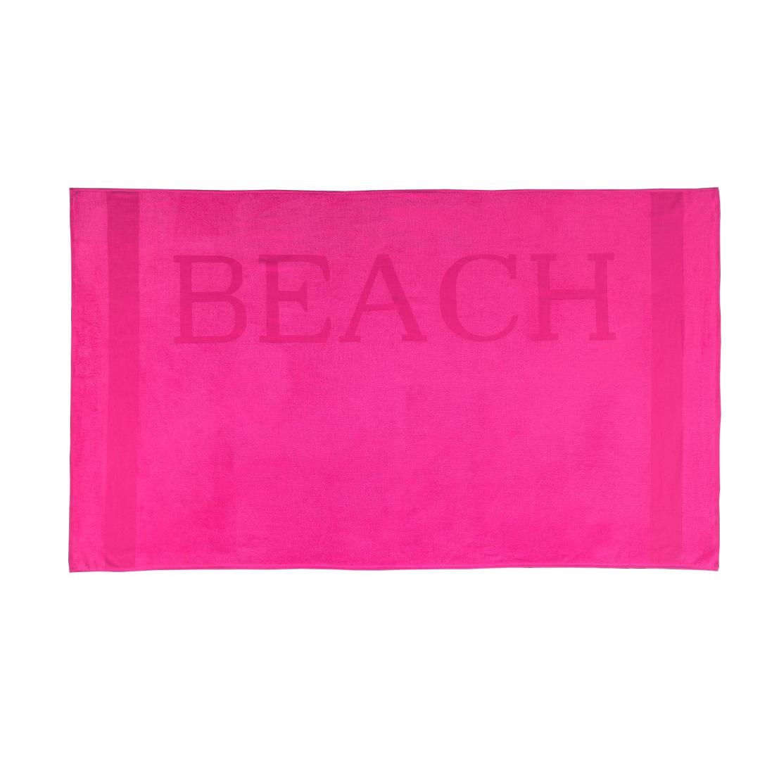 Strandlaken Beach fuchsia