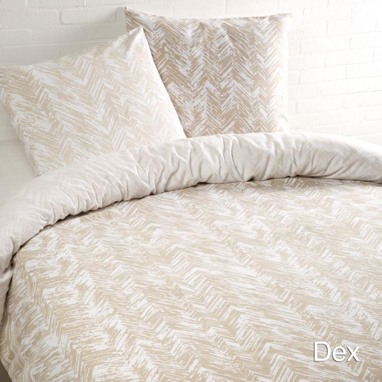 Dex beige flanel
