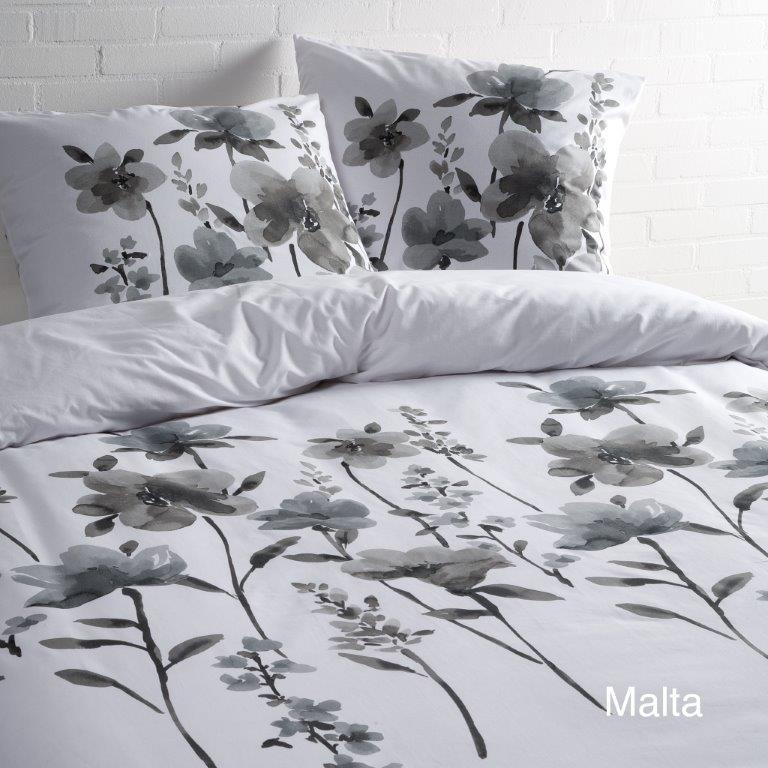 Malta zwart/wit