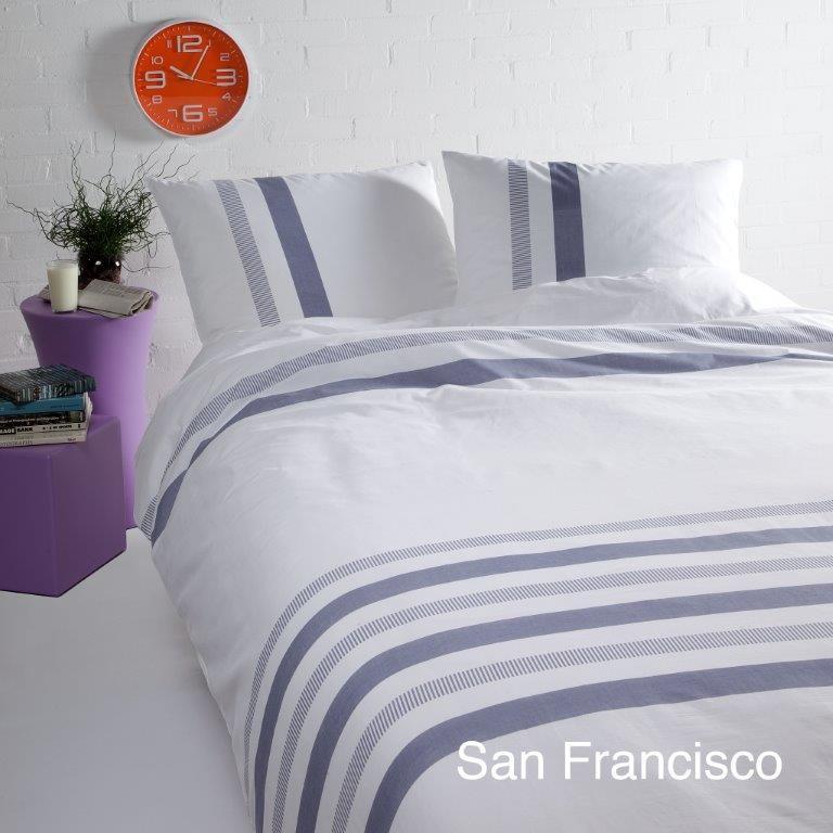 San Francisco blauw