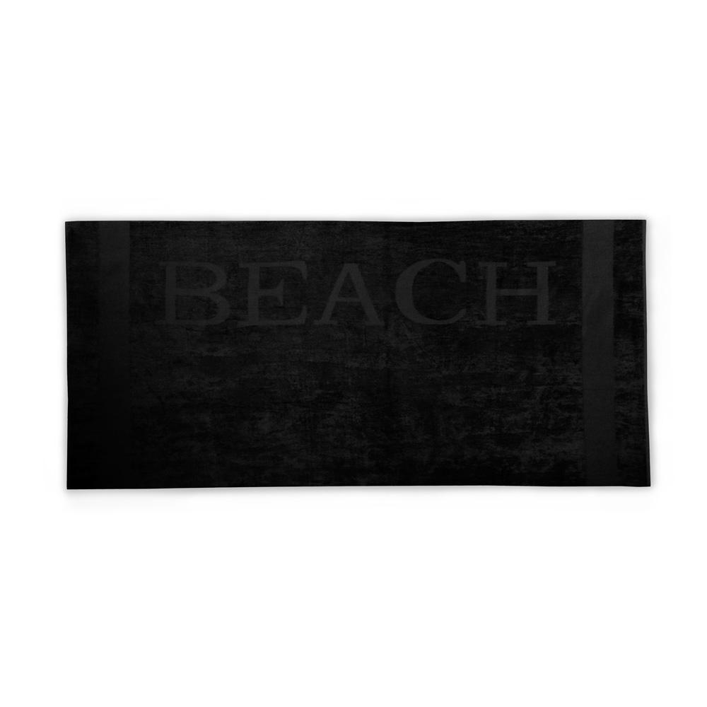 Strandlaken Beach zwart