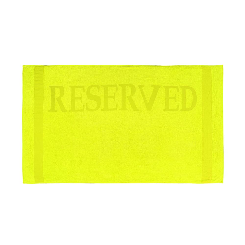 Strandlaken Reserved geel