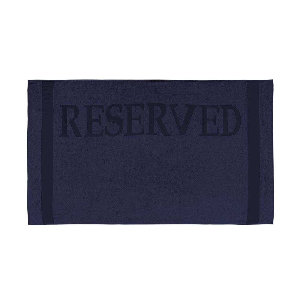 Strandlaken Reserved navy