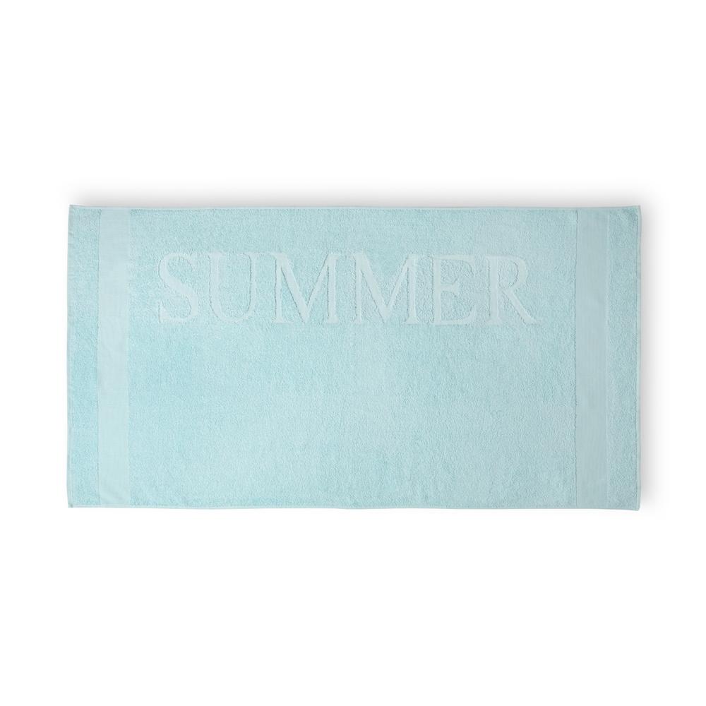 Strandlaken Summer lichtblauw