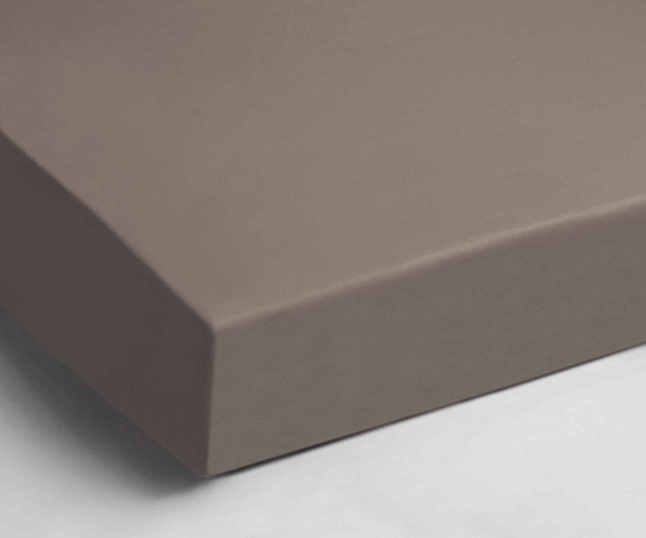 Velours taupe